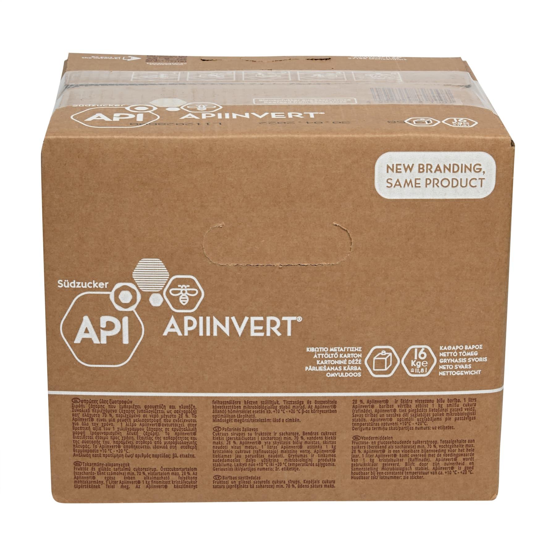 Apiinvert Sirup 16 kg Nachfüllpackung