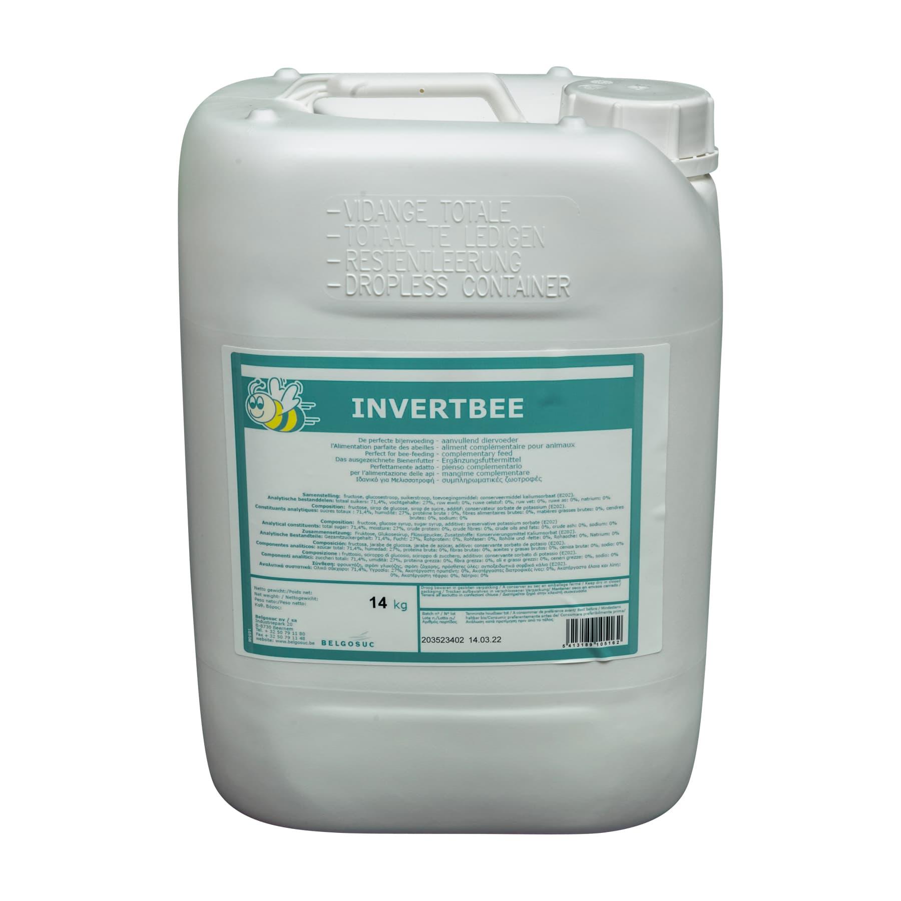 Bienenfuttersirup Invertbee 14 kg Kanister