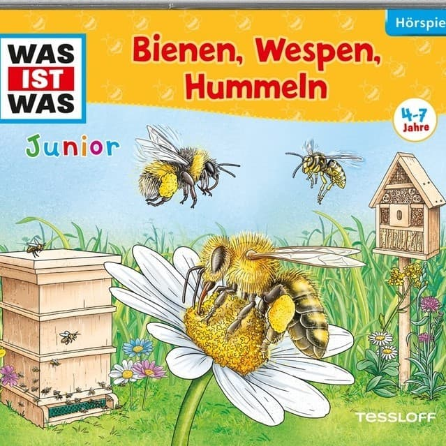 Bienen, Wespen, Hummeln, Was ist Was Junior, Hörspiel-CD, Tessloff Verlag