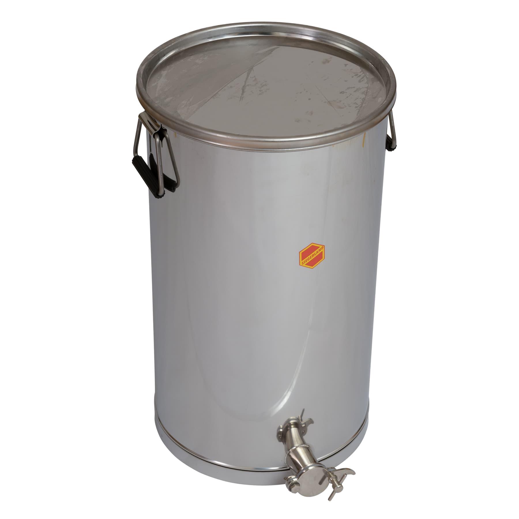 Abfüllbehälter 50 kg mit Auflagedeckel