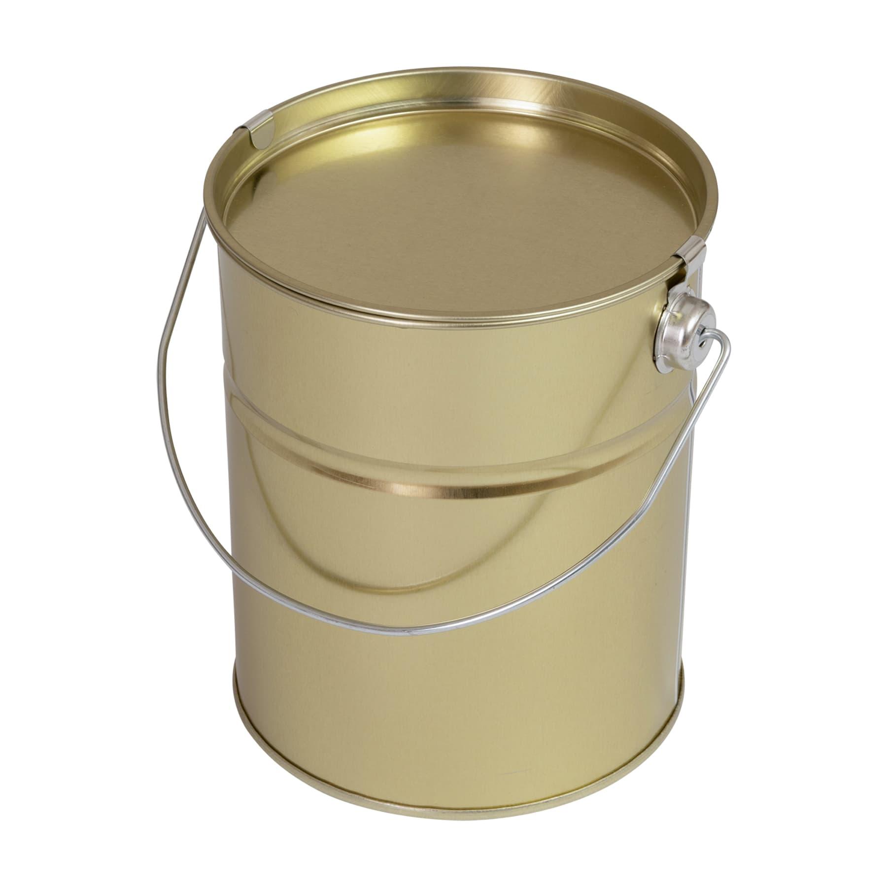 Honigeimerchen 2,5 kg Blech goldlackiert