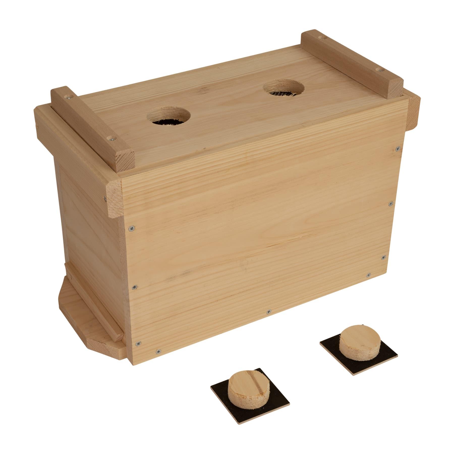 Ablegerkasten 5 Waben DN Holz