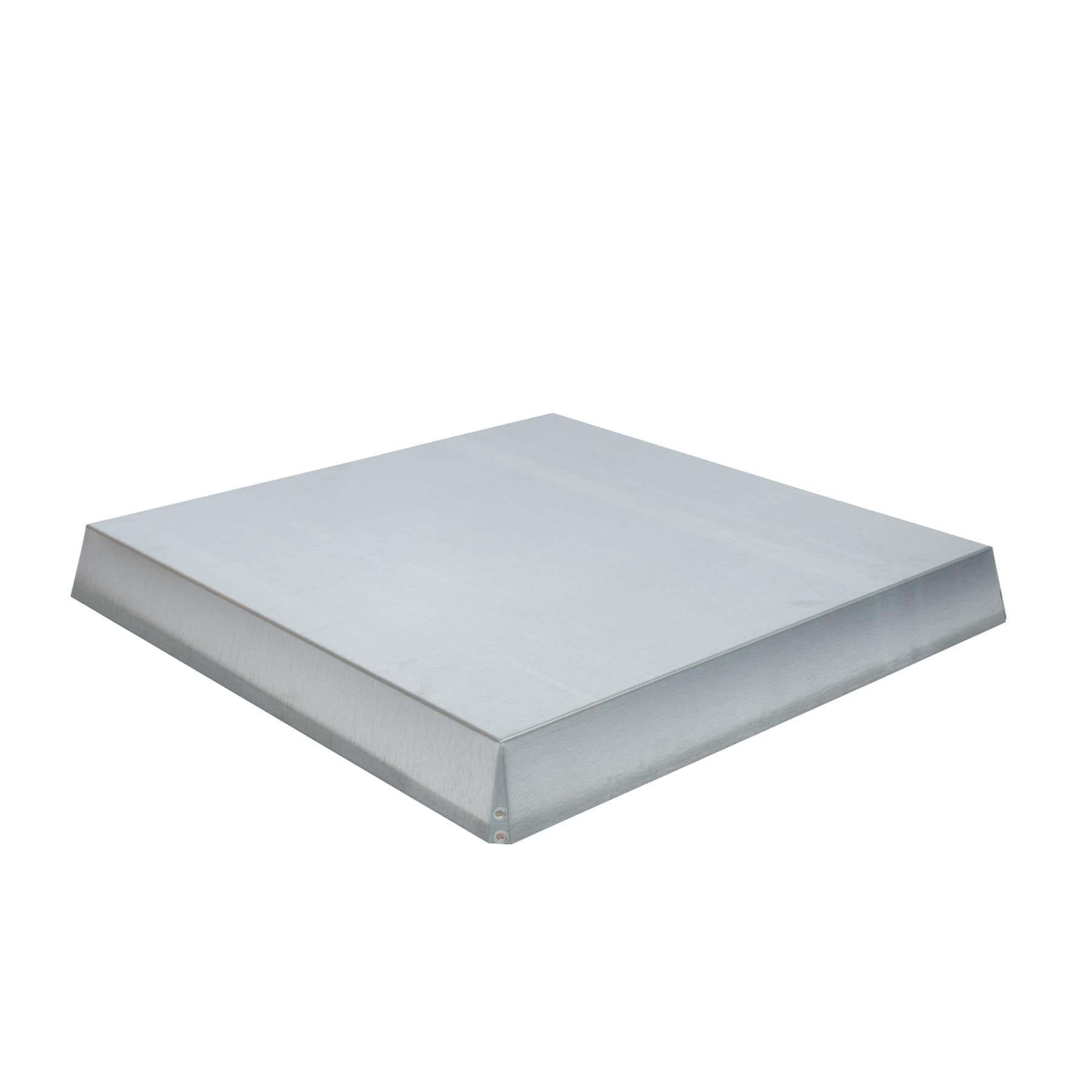 Blechdeckel, verzinkt konisch für  570 x 570 x 65 mm, passend für  Holzstülpdeckel Dadantbeute