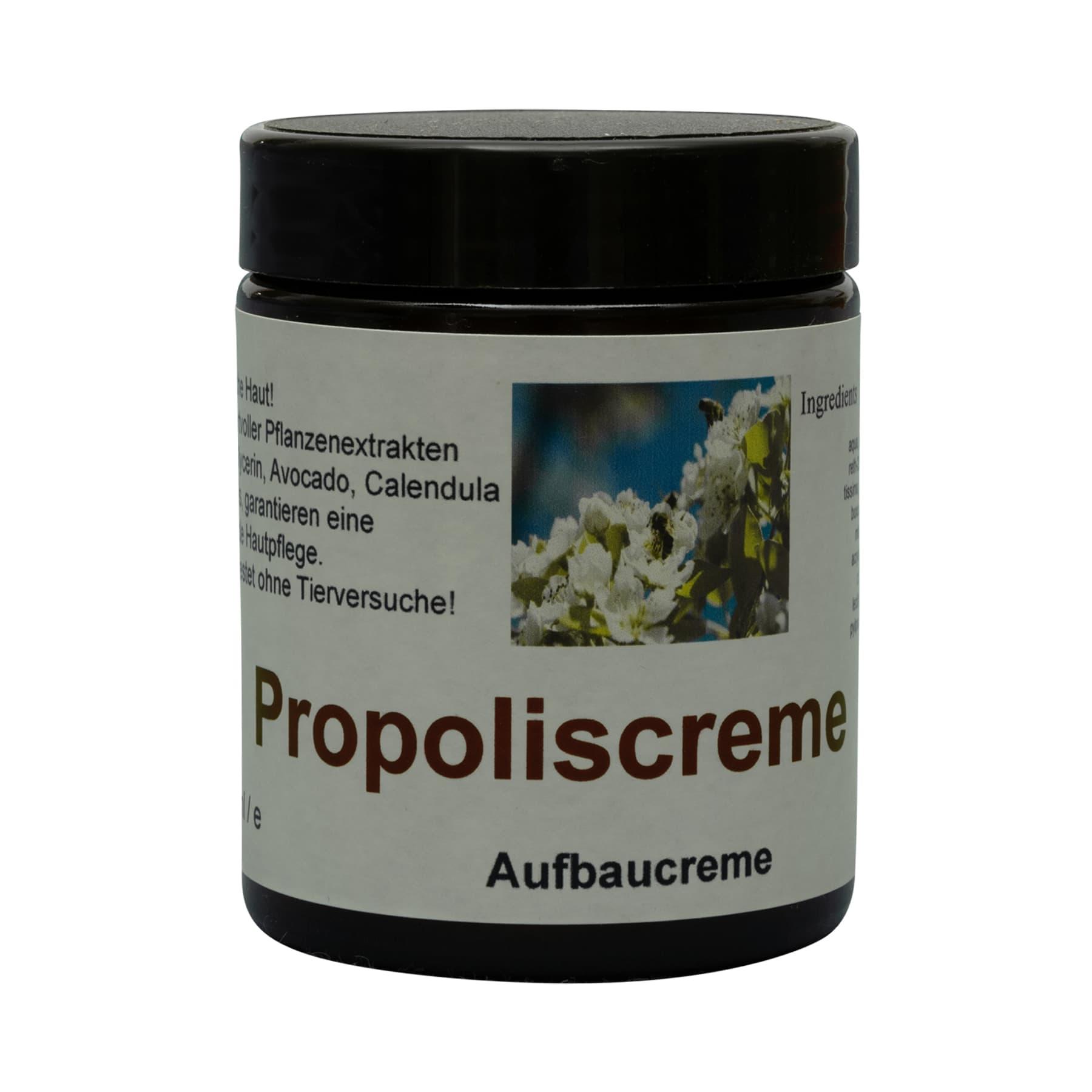 Hautcreme mit Propolis 100 ml mit beigelegtem Etikett