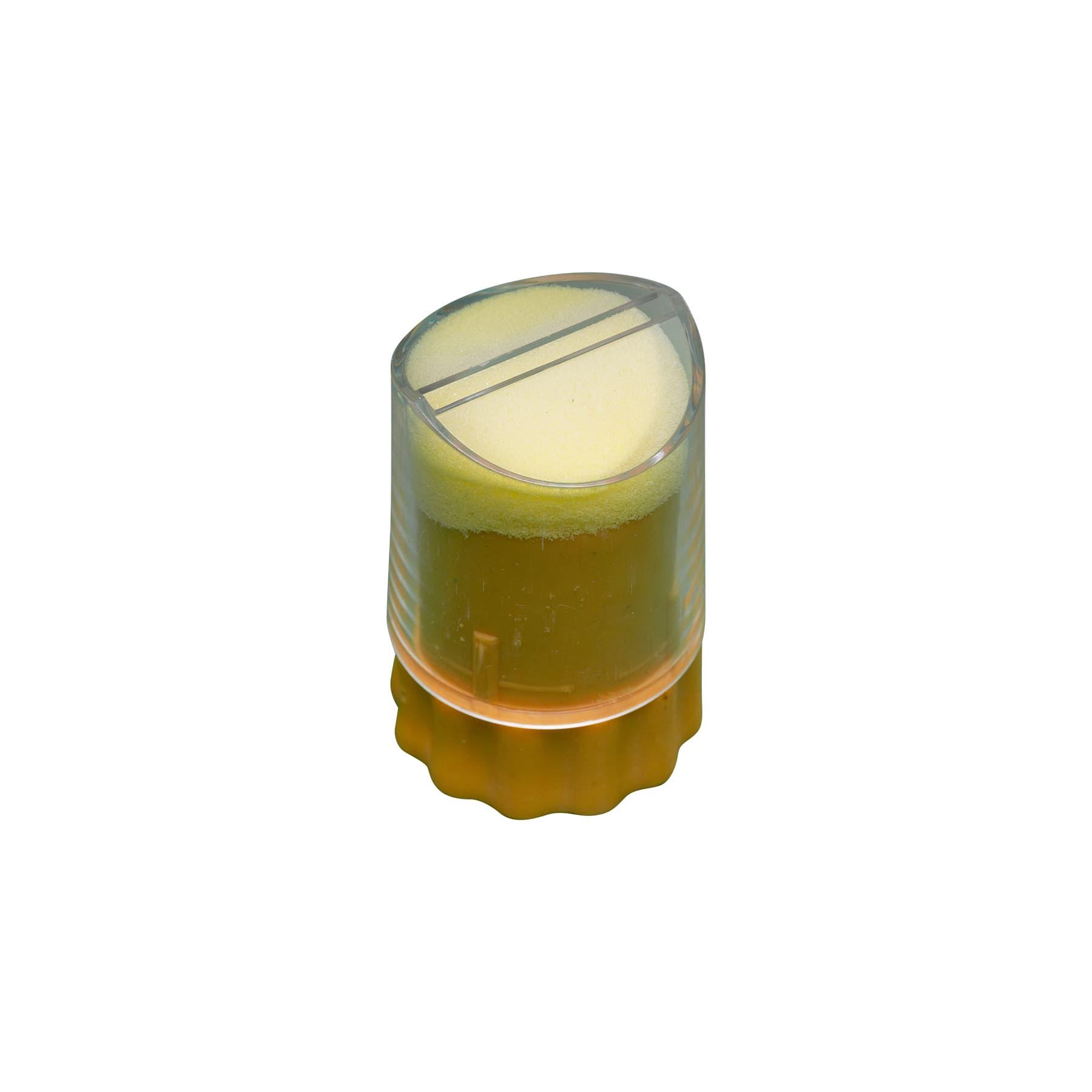 Zeichengerät mit Schiebestange, ohne Gewinde, ganz in gelb