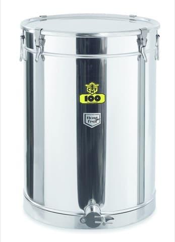 Abfüllbehälter CFM 100 kg mit Spannring