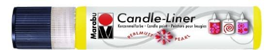 Candle - Liner, 25 ml von Marabu 019 Gelb