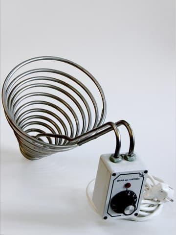Dana api Therma II, Heizspirale für großes Spitzsieb mit 45 cm Durchmesser