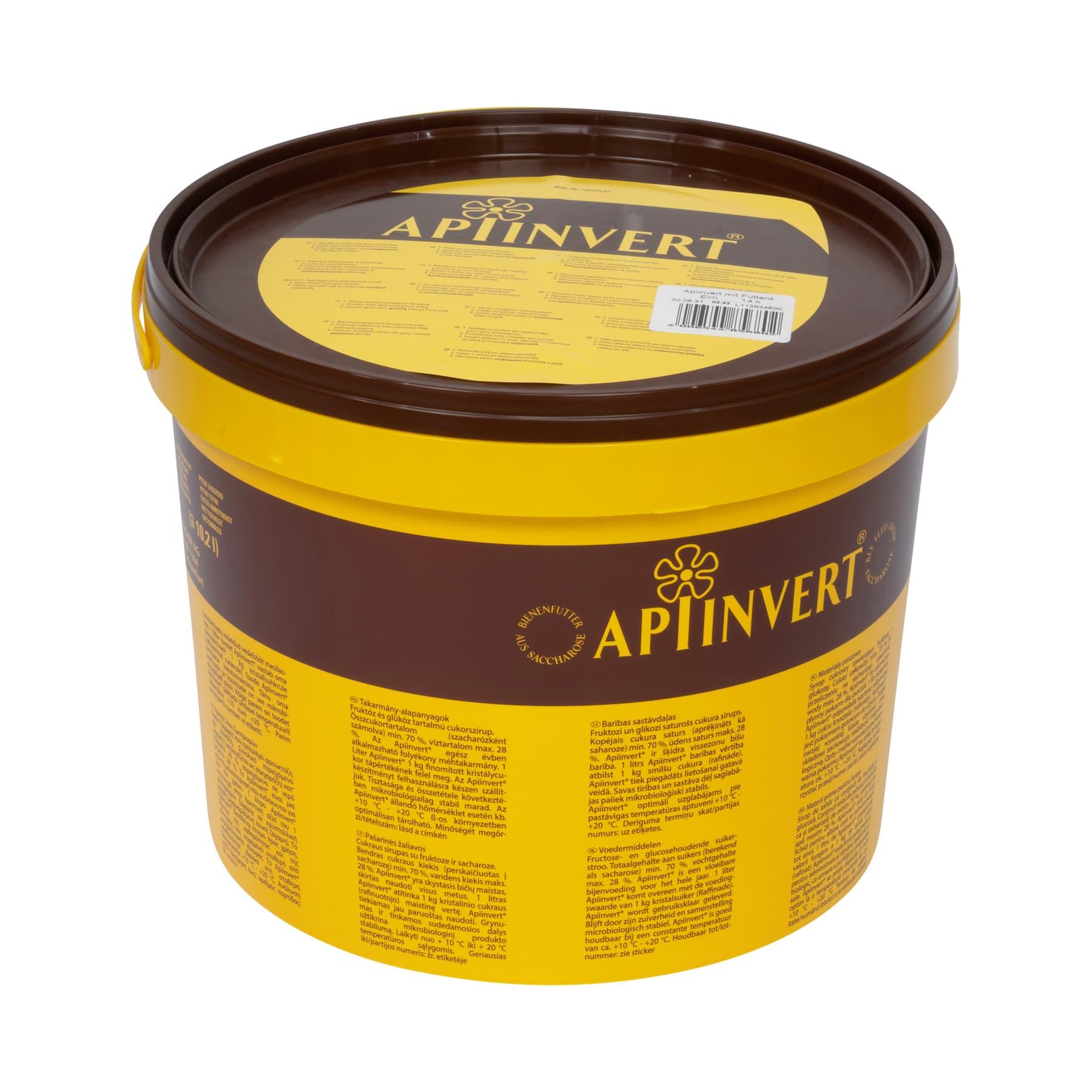 Apiinvert Sirup 14 kg Eimer,