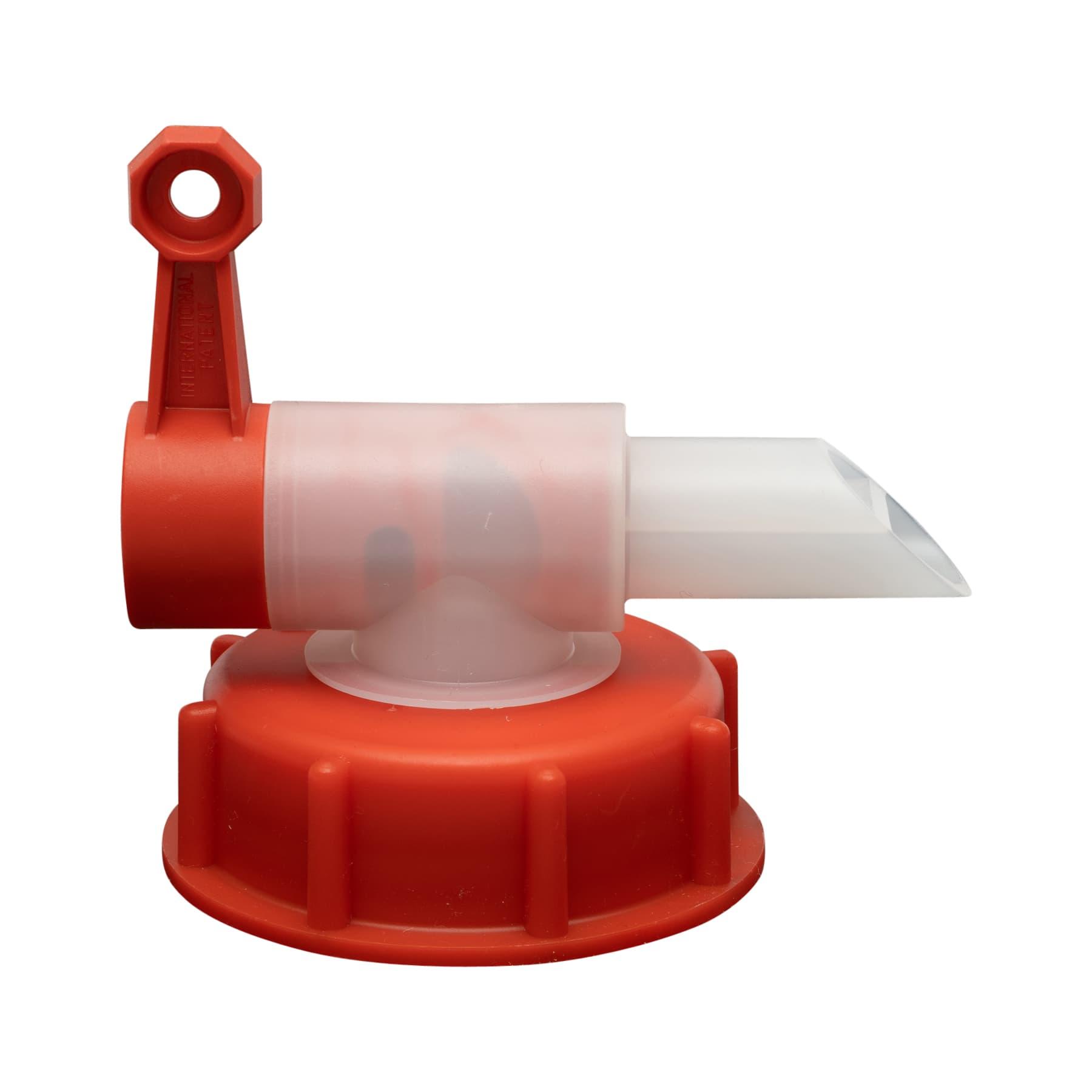 Dosierhahn für 30 L Kanister 61 mm Gewinde, 23 mm Öffnung