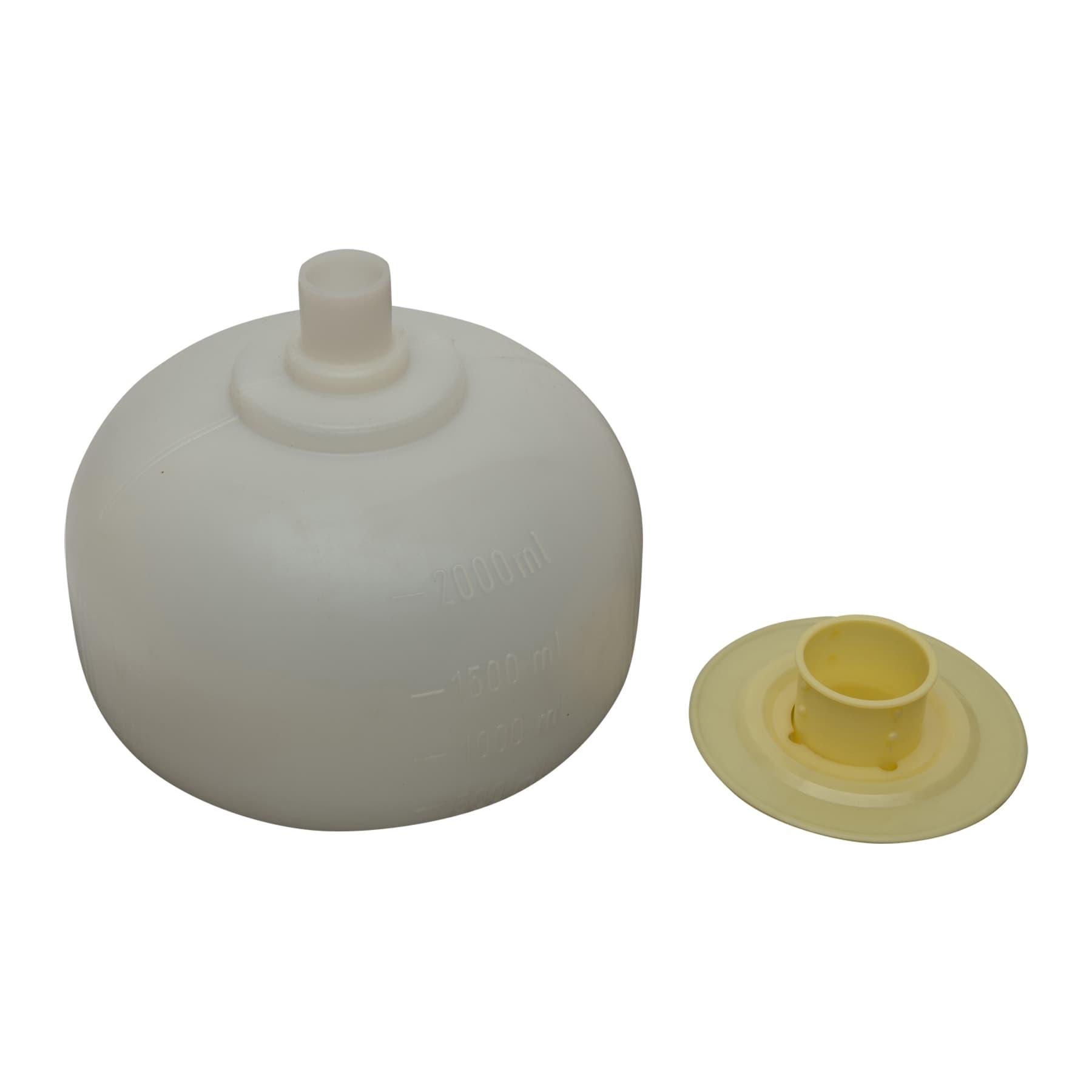 Futterballon, mit Teller, ohne Bürste