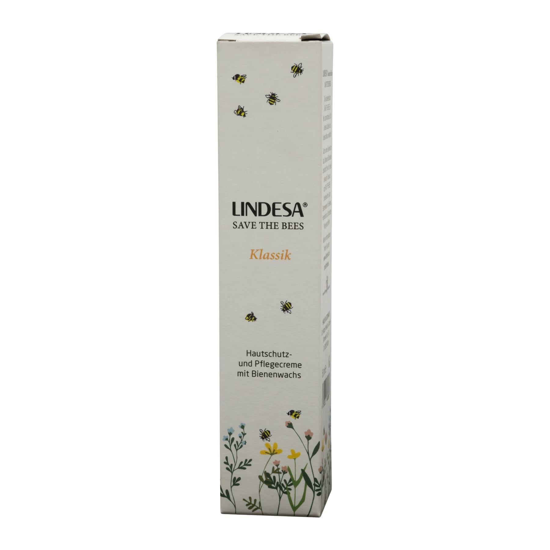Lindesa SAVE THE BEES, Klassik, Hautcreme 50 ml,
