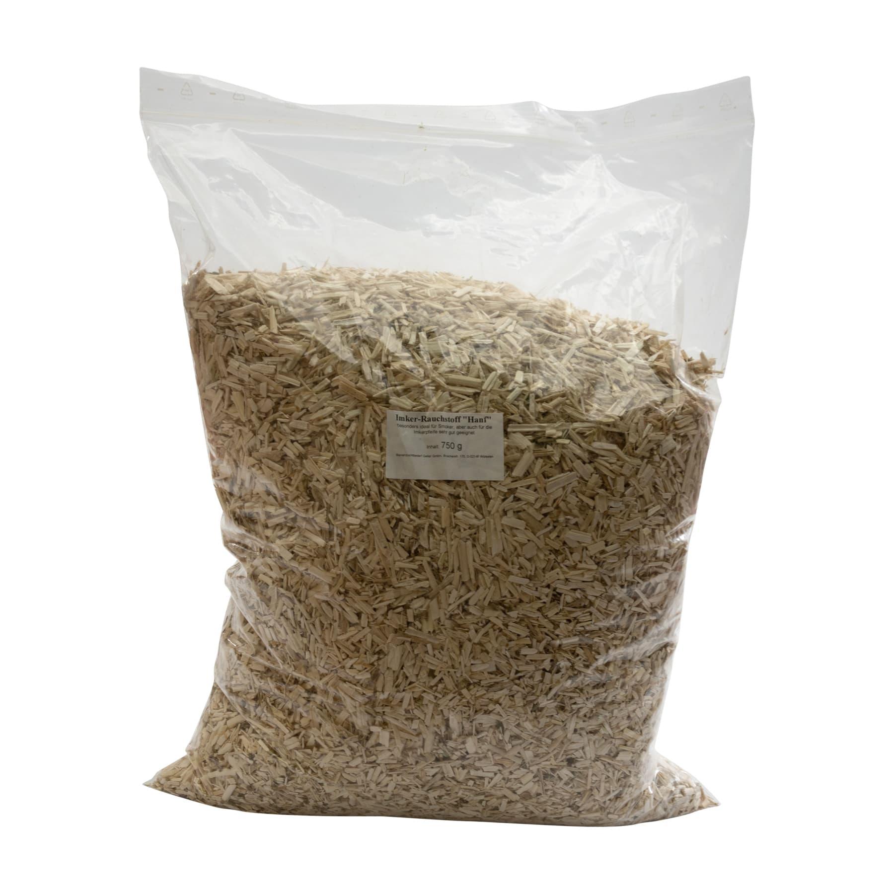 """Imker-Rauchstoff """"Hanf"""" 750 g, besonders ideal für Smoker, aber auch für die Imkerpfeife sehr gut geeignet"""