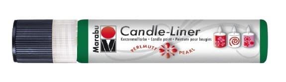Candle - Liner, 25 ml von Marabu 216 grün