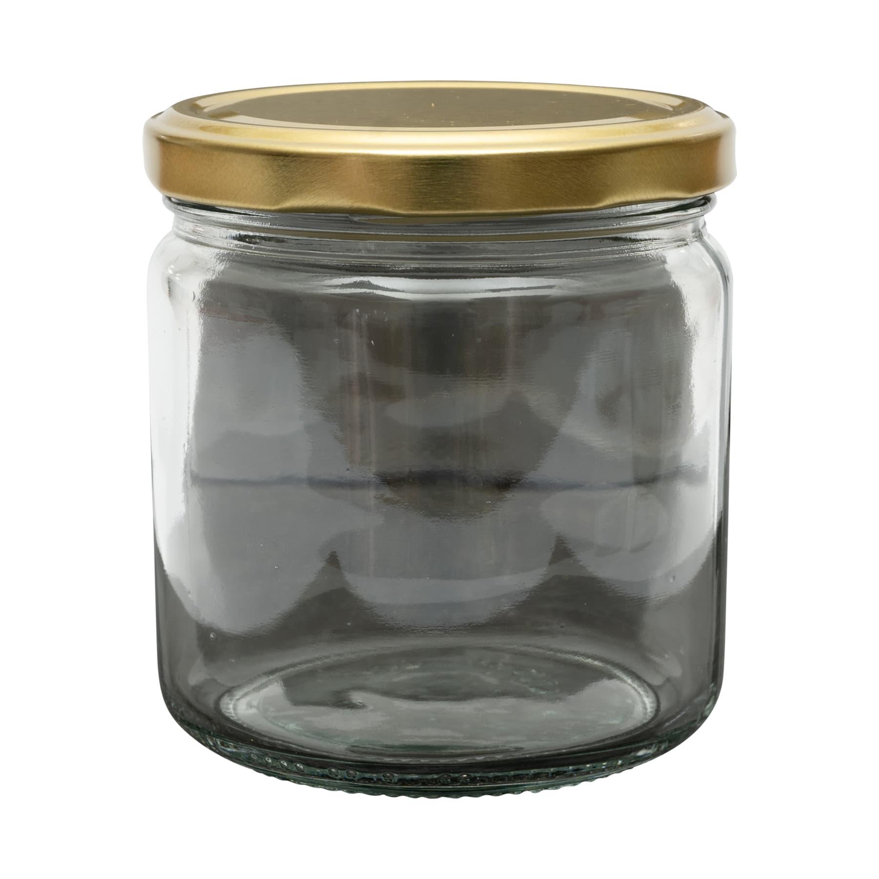 Rundglas 250 g TO mit Deckel im 12er Karton 4488  Gläser = 1 Palette FREI HAUS