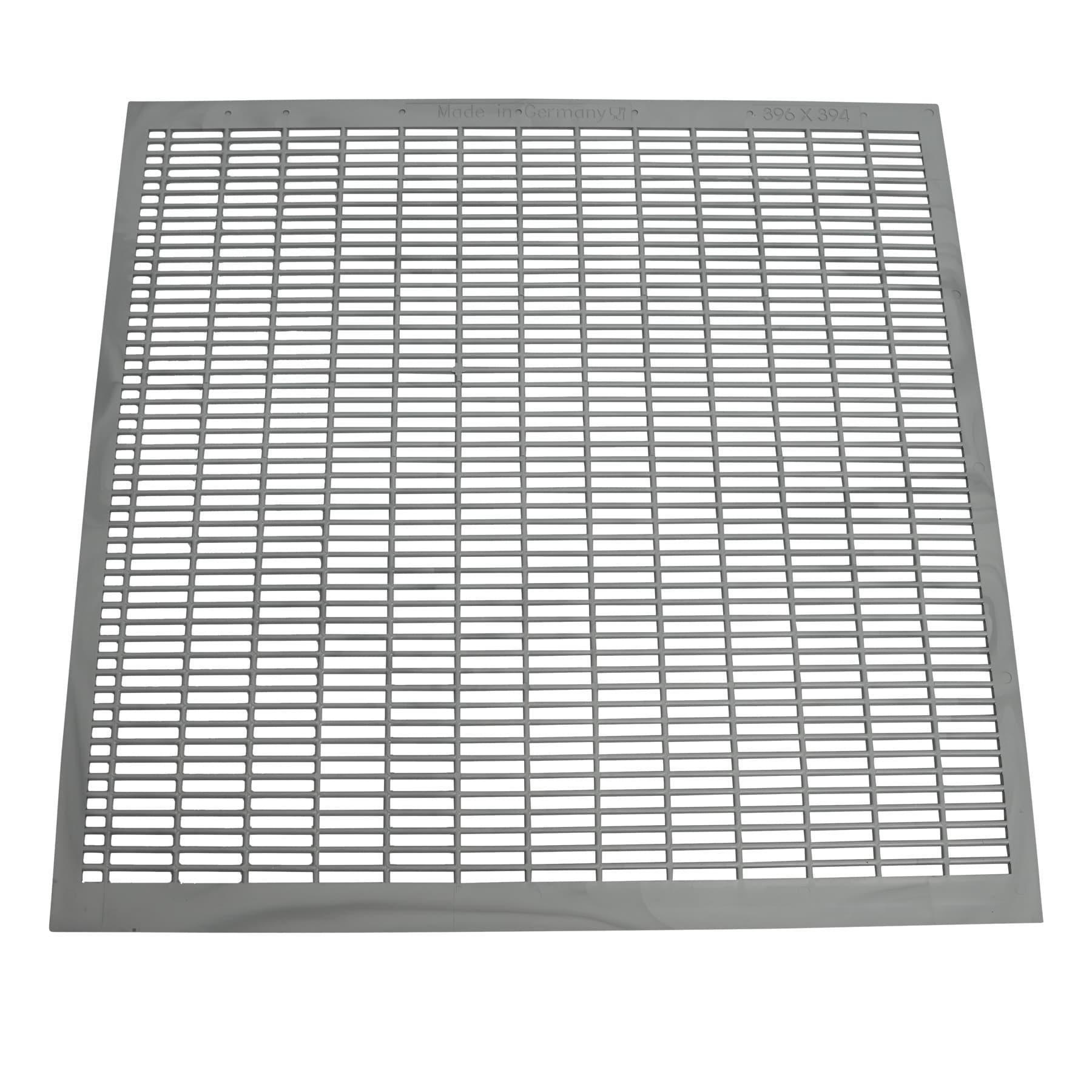 Absperrgitter Kunststoff, 396 x 394, 11W DN,  neue Ausführung, s