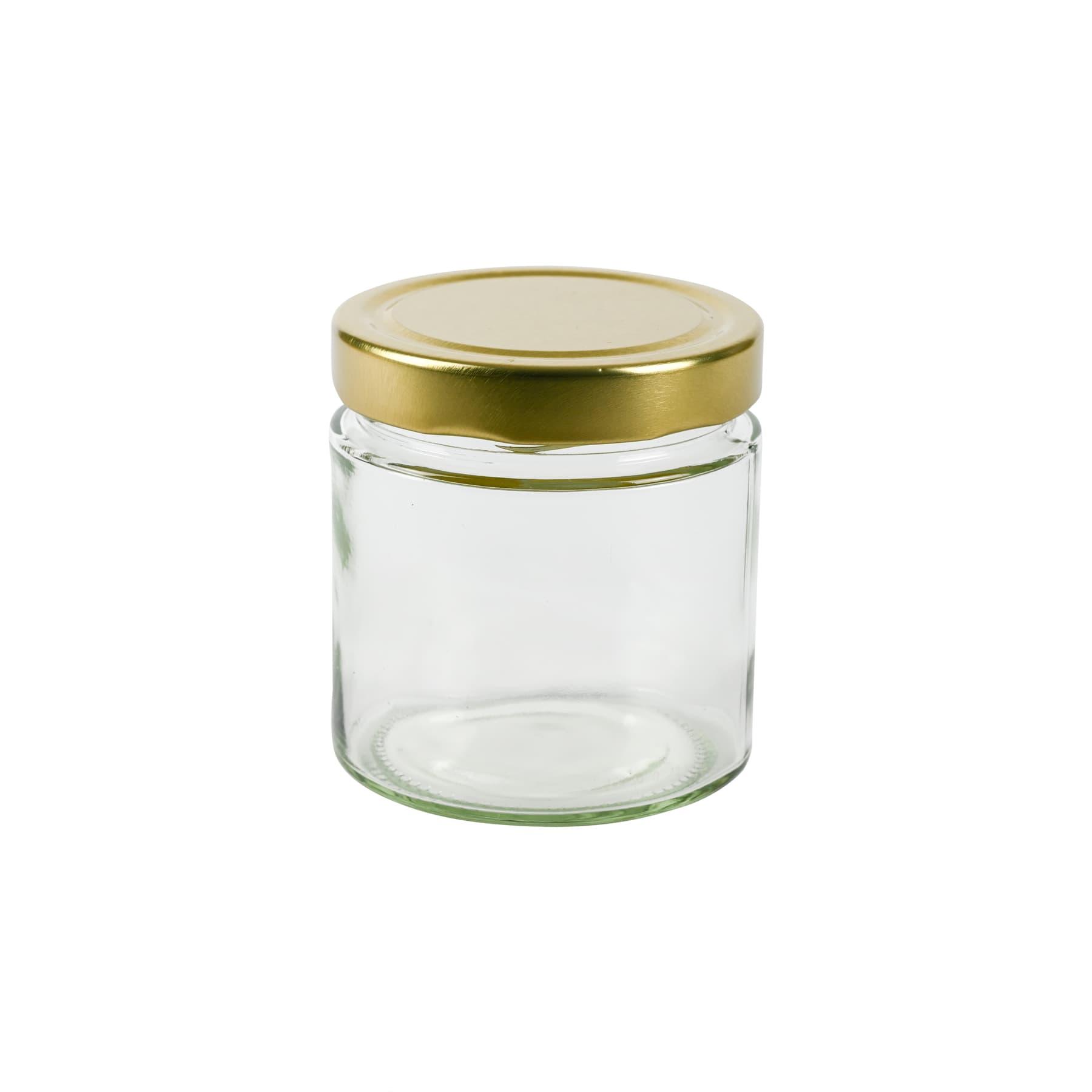 Rundglas 500 g (410 ml), mit T0 DEEP  Deckel gold 82 mm zu 13 St. je Karton gepackt diesen Artikel bieten wir nur zur Selbstabholung an,