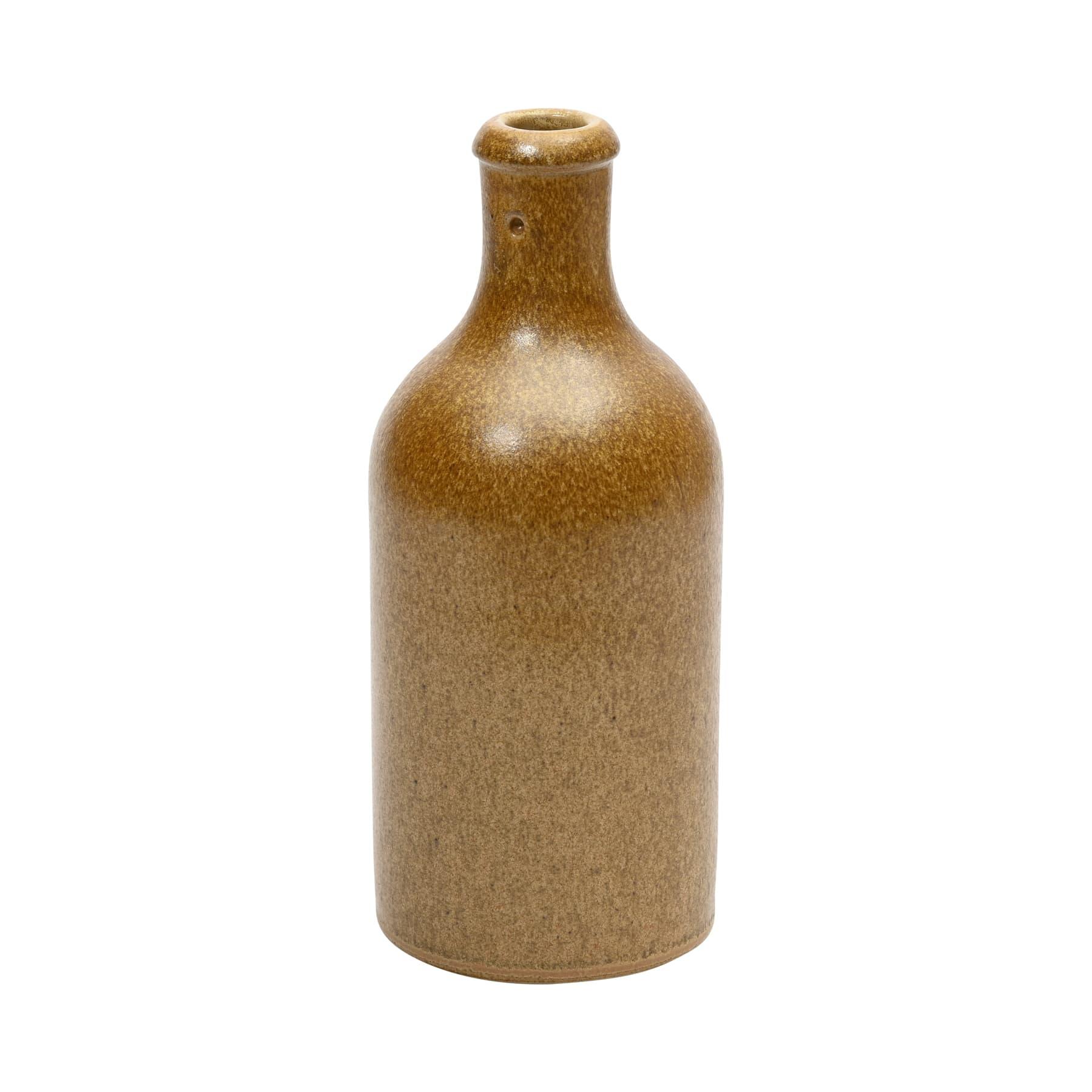Steingutflasche 500 ml ohne Verschluß für Bügelverschluß