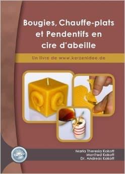Bougies, Chauffe-plats et Pendentifs en cire d´abeille