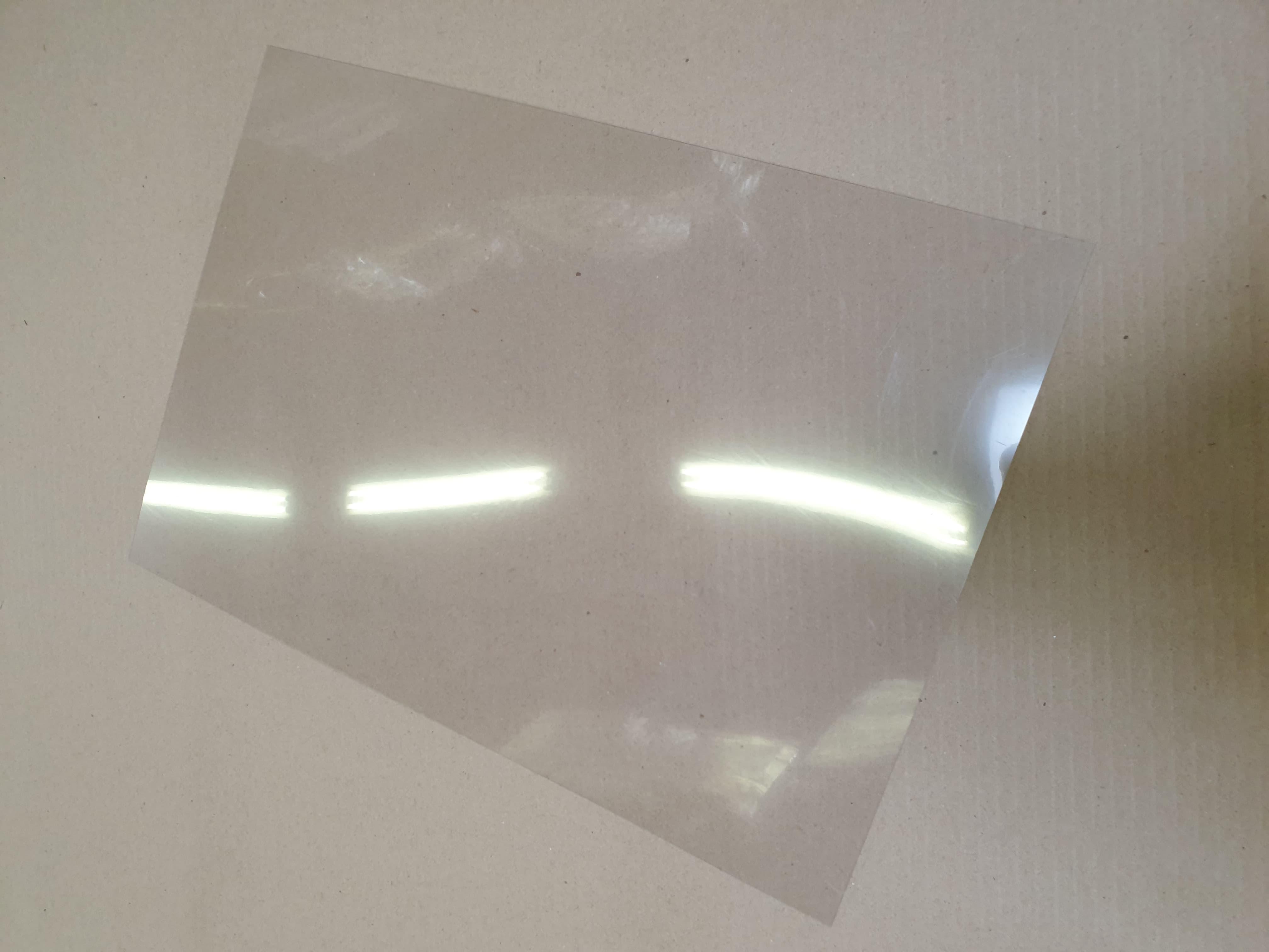 Abdeckfix, Klarsichtabdeckung 483x 334 x 0,4 mm für Geller Zander Beute,