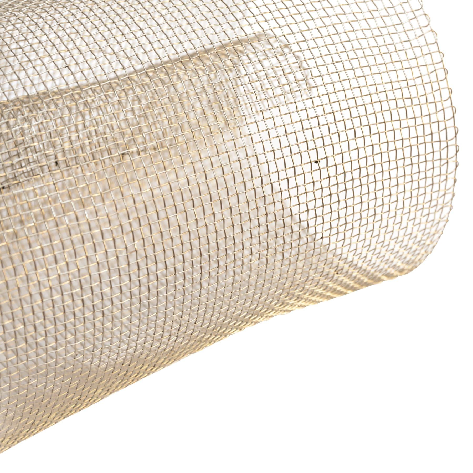 Edelstahldrahtgewebe 2,7 mm , ca 51 cm breit lfdm
