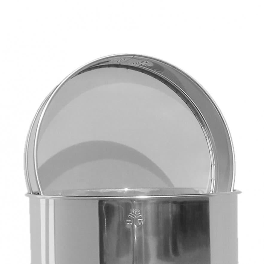 Sieb aus Edelstahl, für 50 kg Abfüllbehälter, Original Lega ArtNr. 6005