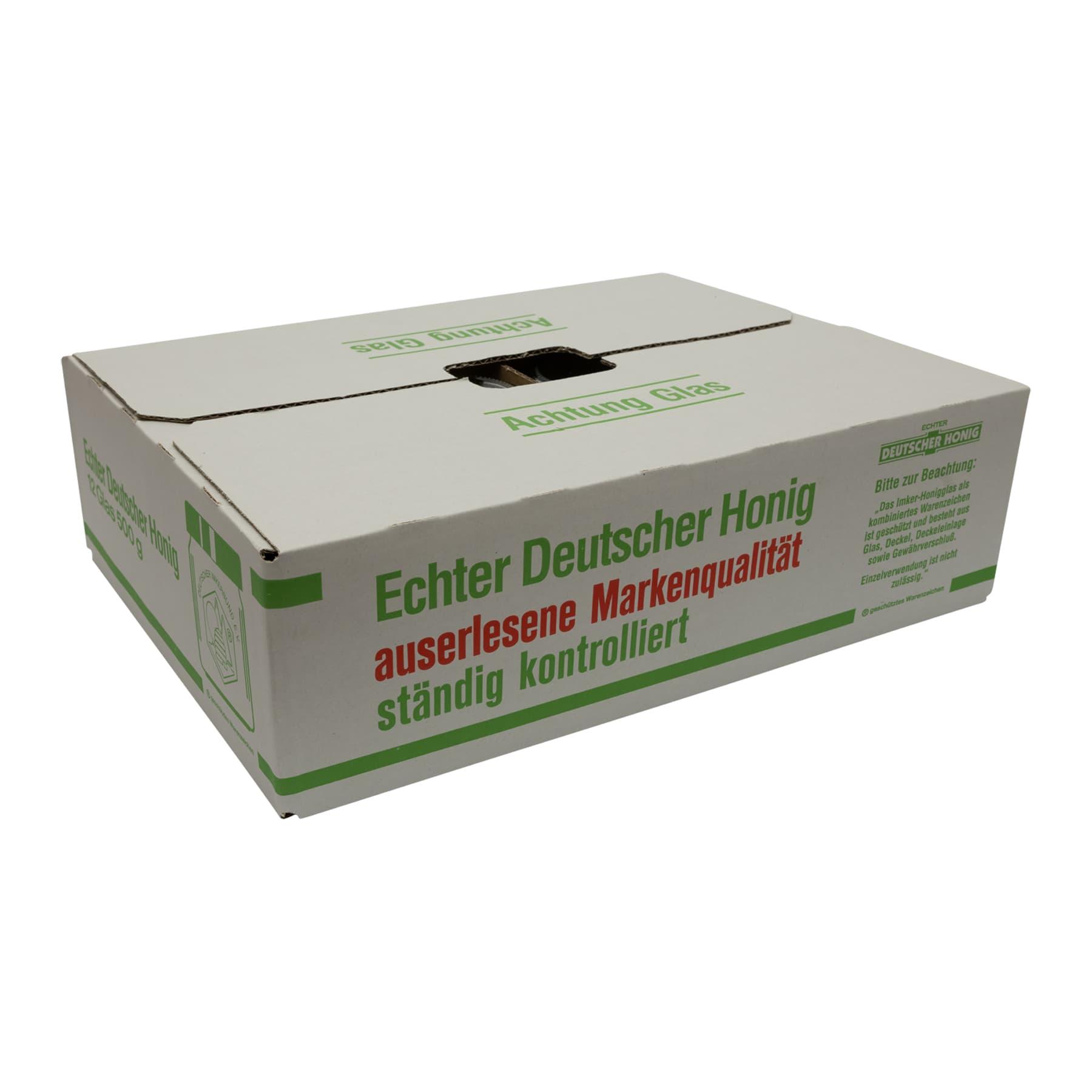 DIB-Gläser 500 g 1/2 PAL(1200 Stk) inkl. Deckel und Umkarton, Frei Haus