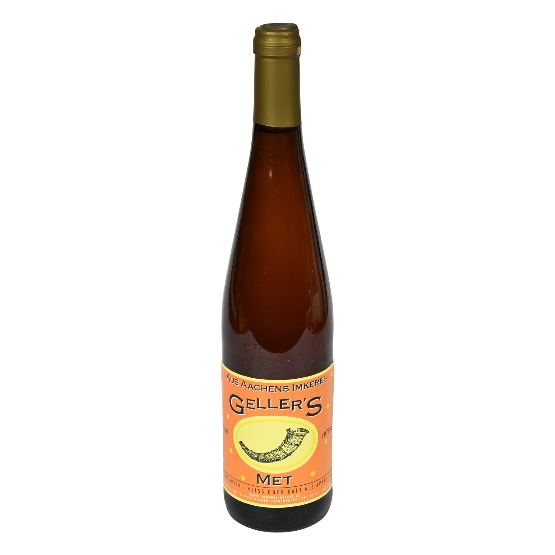 Honigwein - Met, feinherb, 0,75 l Flasche (olivgrüne Kapsel)
