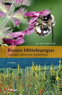 Bienen Mitteleuropas, Gattungen, Lebensweise, Beobachtung, F. Amiet, A. Krebs, Haupt Verlag
