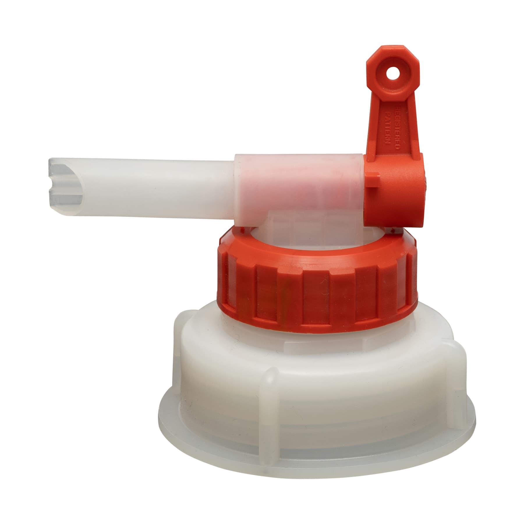 Dosierhahn für 30 L Kanister 61 mm Gewinde, 12 mm Öffnung