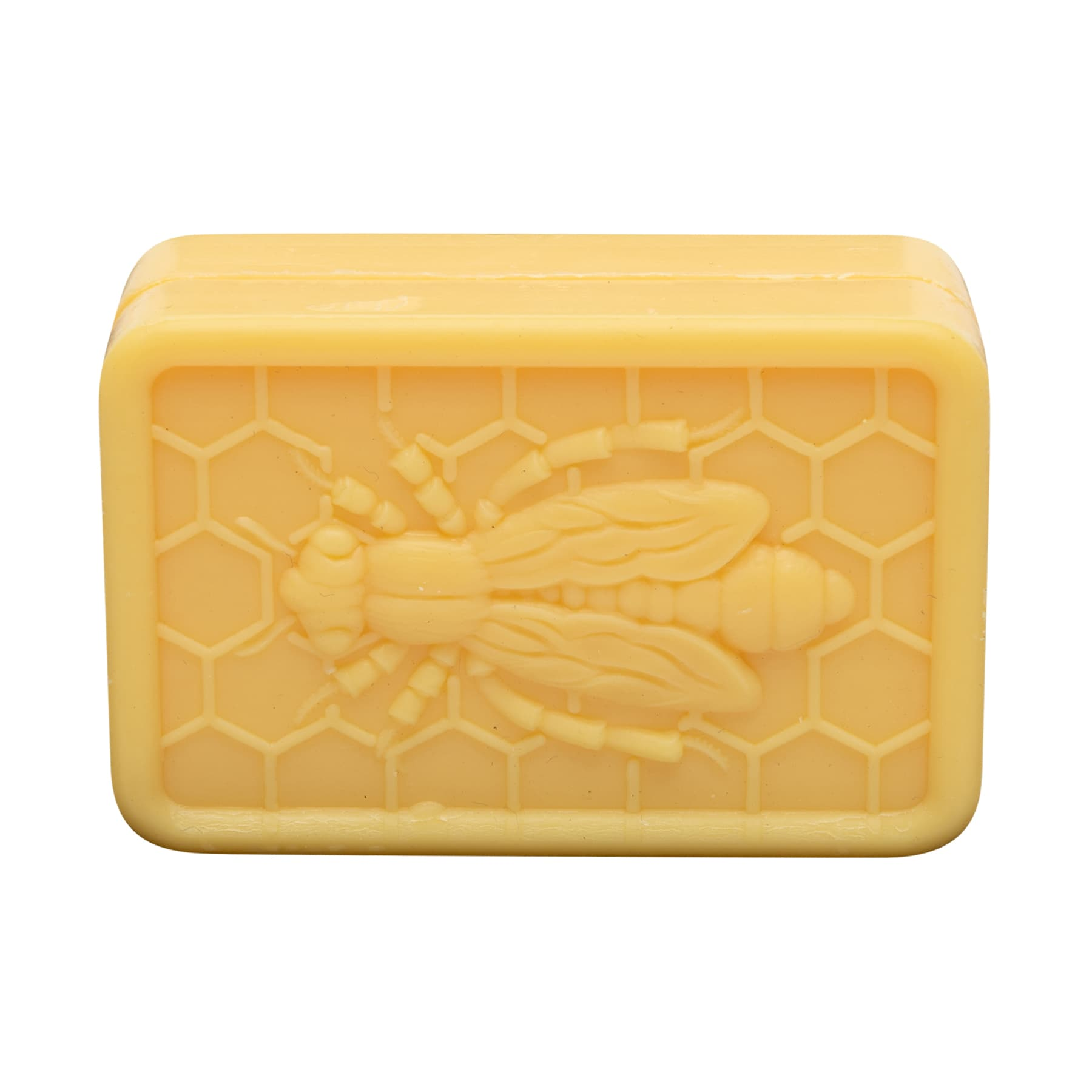 Honig- Lanolin-Seife mit Bienendekor (Quaderform) 100 g unverpackt