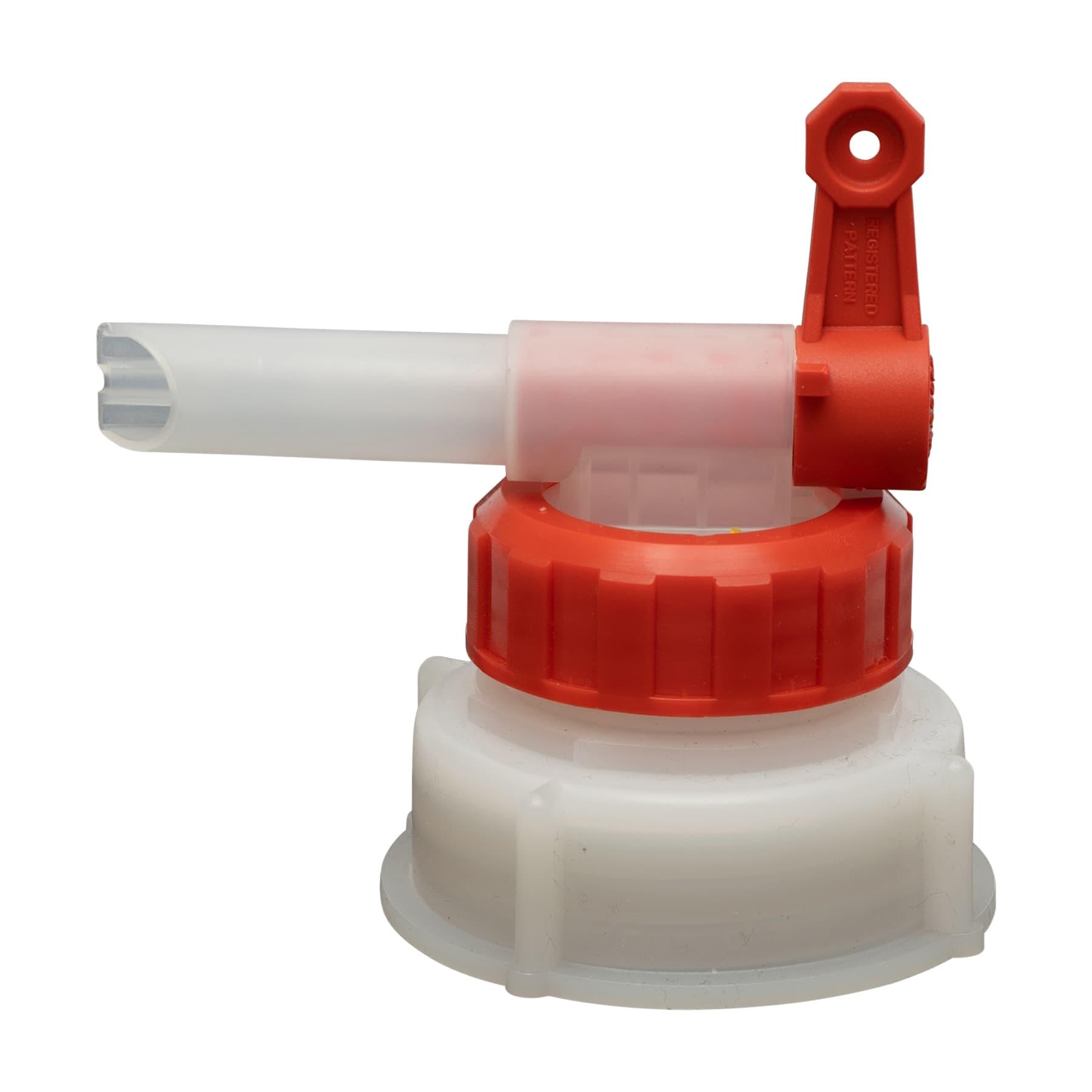 Dosierhahn für 10 L Kanister 51 mm Gewinde, 13 mm Öffnung