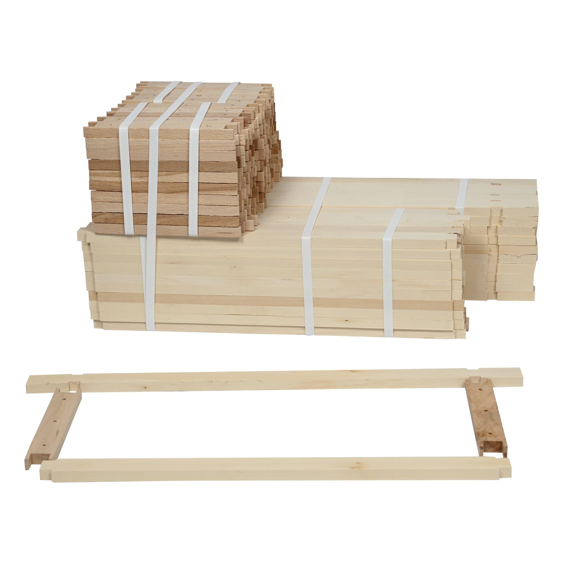 Rähmchen Simplex Honig  i. T. 436 x 140 mm