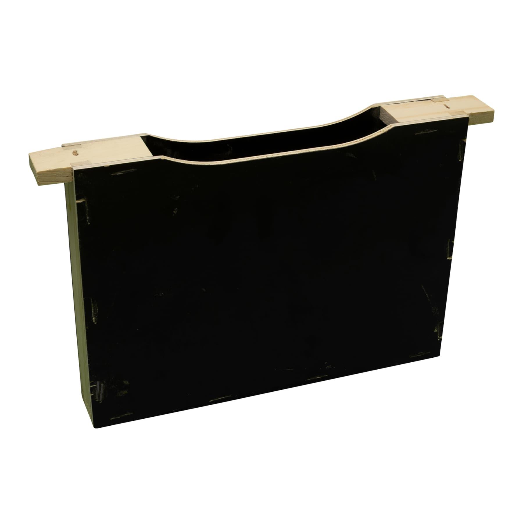 Futtertasche Mini Plus aus Weyhmuthkiefernholz und Betoplanplatten