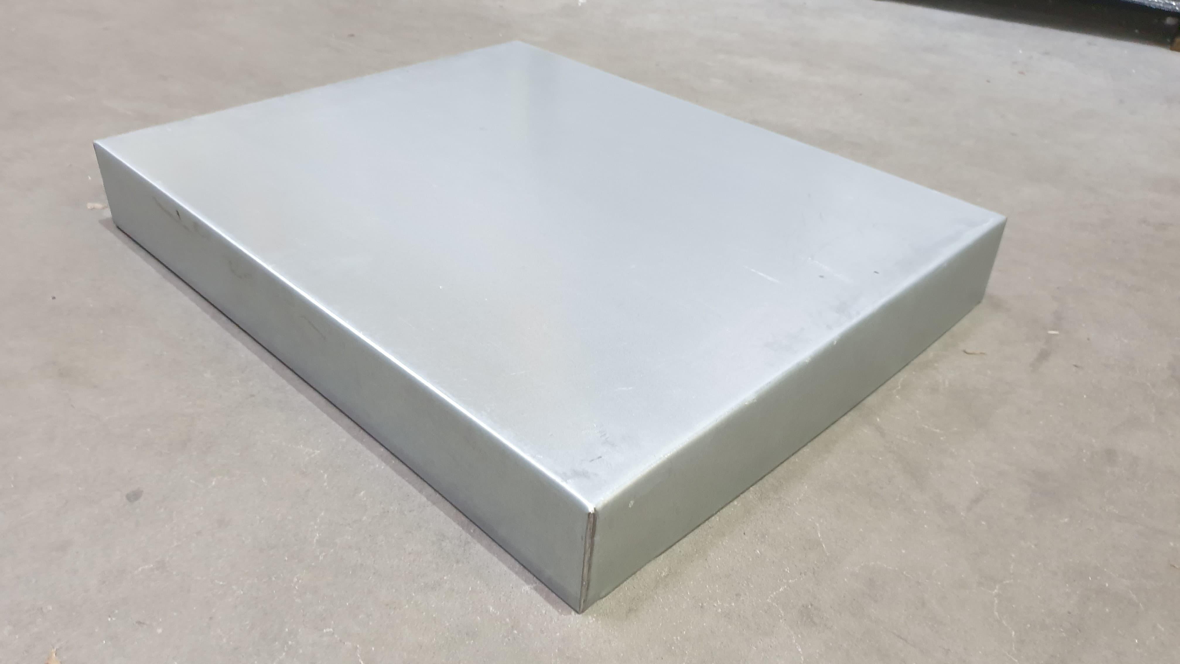Blechdeckel verzinkt rechtwinklig, Innenmaß 530 x 430 x 63 mm für Liebigbeute Zander