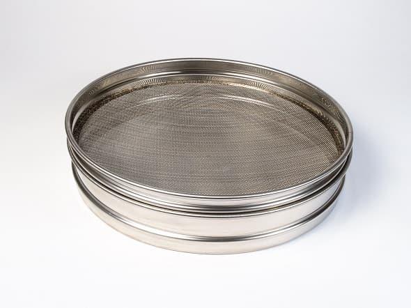 Honigdoppelsieb aus Edelstahl original CFM passend zu 100 kg Abfüller ca. 43 cm  Durchmesser