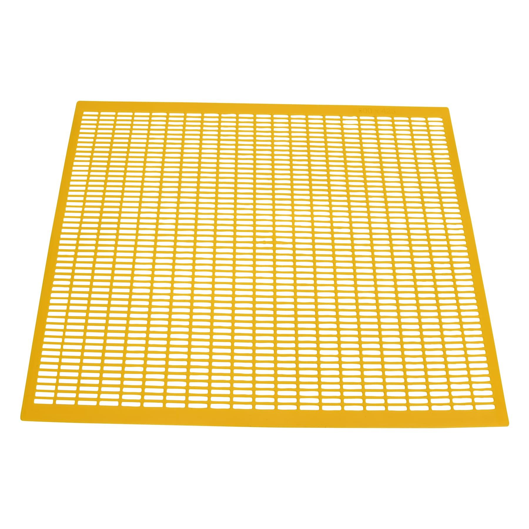 Absperrgitter Kunststoff, 425 x 500, Frankenbeute,  gelb
