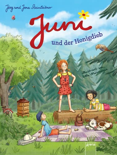Juni und der Honigdieb, J. und J. Steinleitner, Arena Verlag