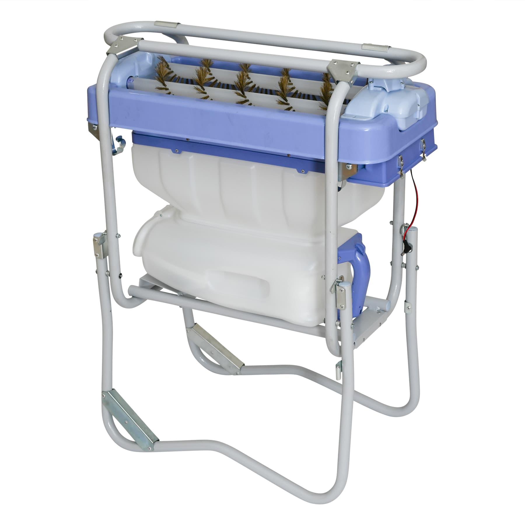 """Abkehr-Maschine """"Bee Sweeper"""" mit Akkubetrieb und Auffangbehälter, ideal zur Kunstschwarmbildung und Honigernte"""