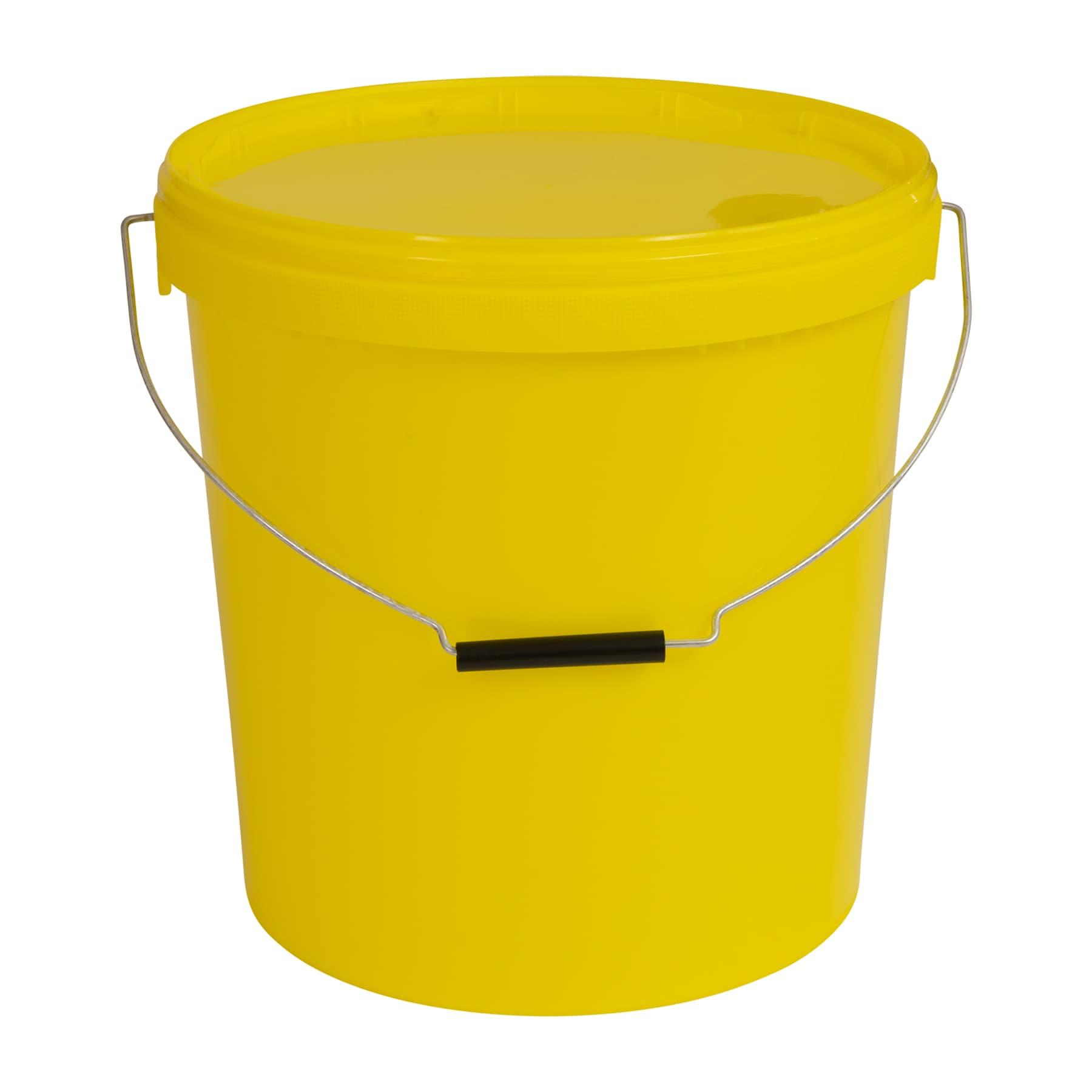 Honigeimer mit Metall-Tragebügel für ca. 25 kg Honig