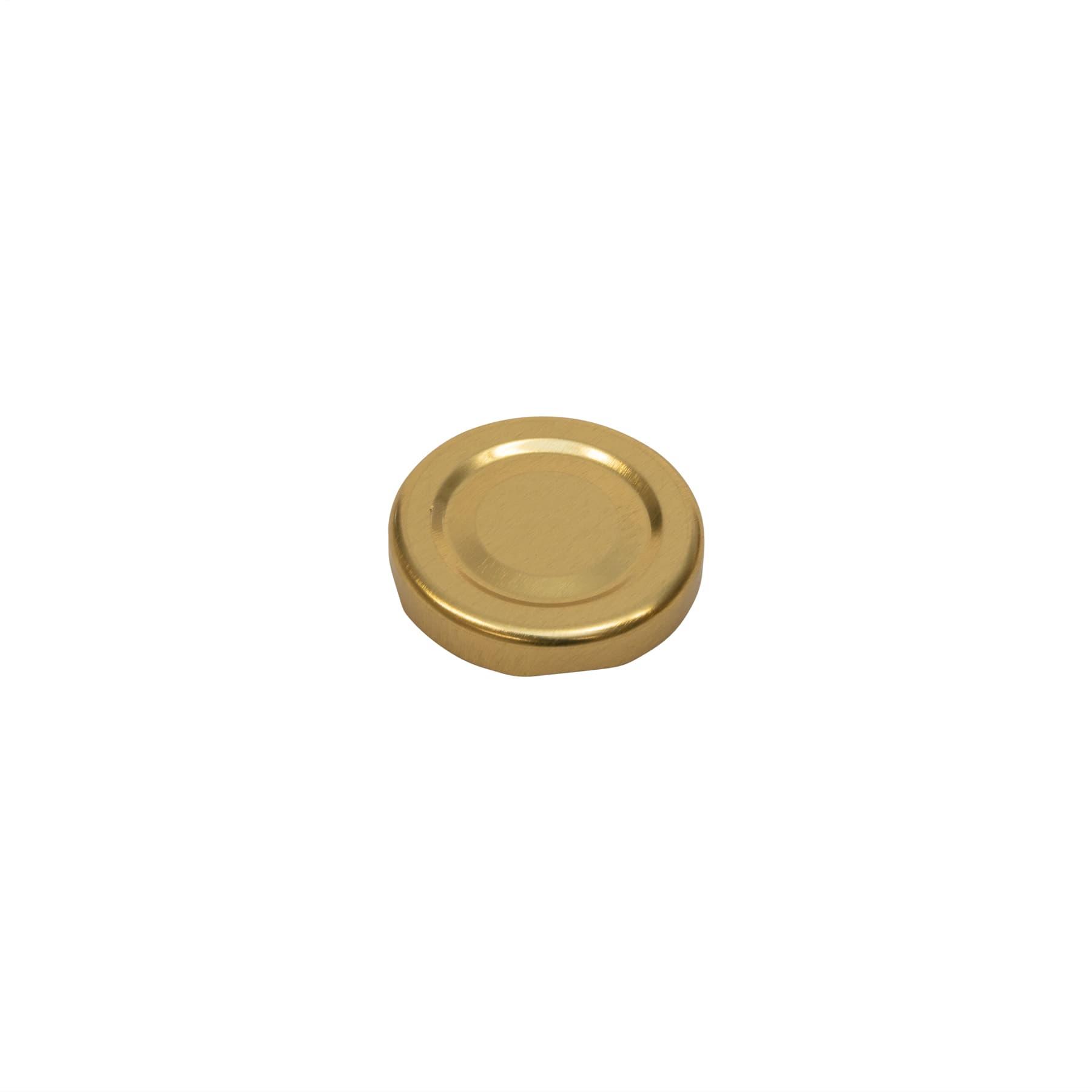 Twist Off Deckel gold 43 mm