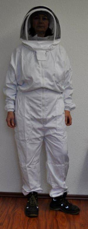 Imker Overall (englisch) weiß 3 XL
