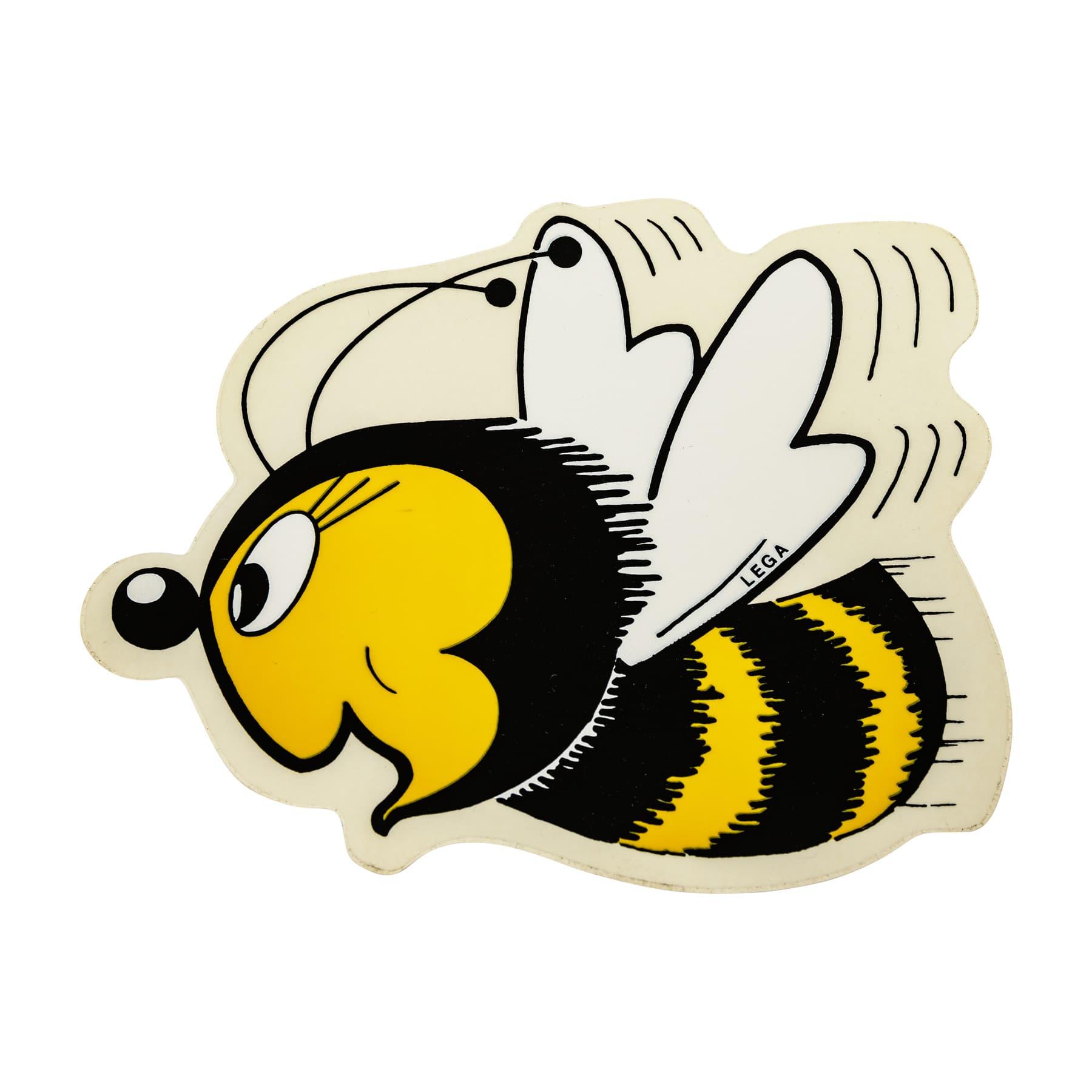 Aufkleber große Biene