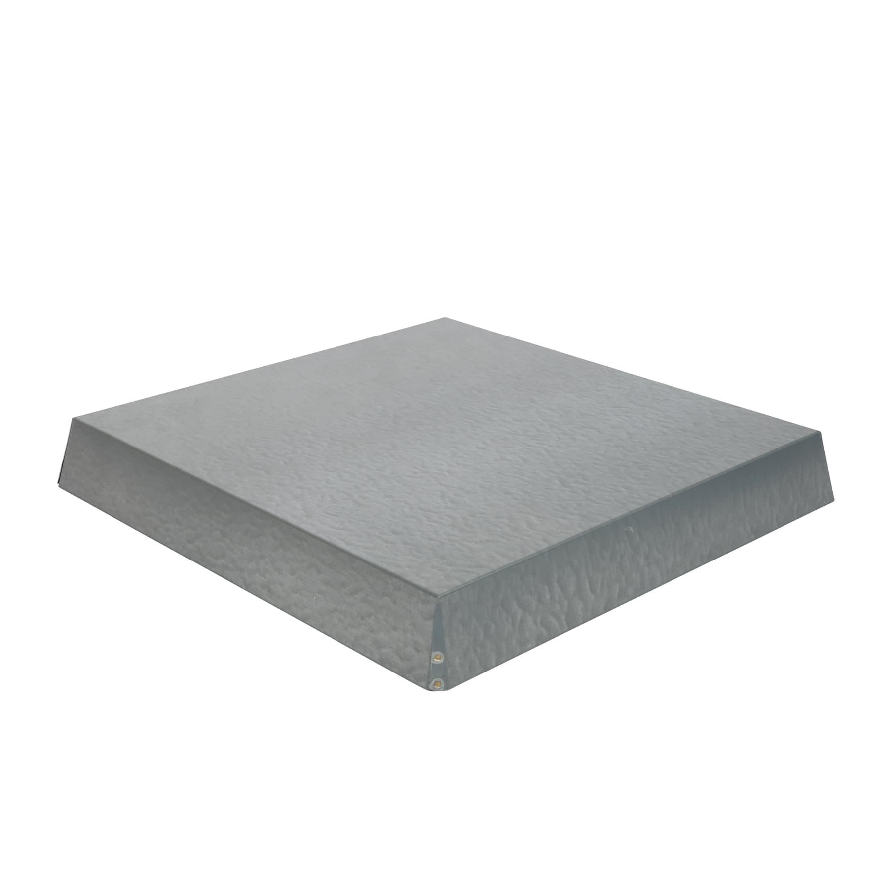 Blechdeckel, verzinkt konisch Innenmaß 450 x 448 x 65 mm für DN 11 Waben