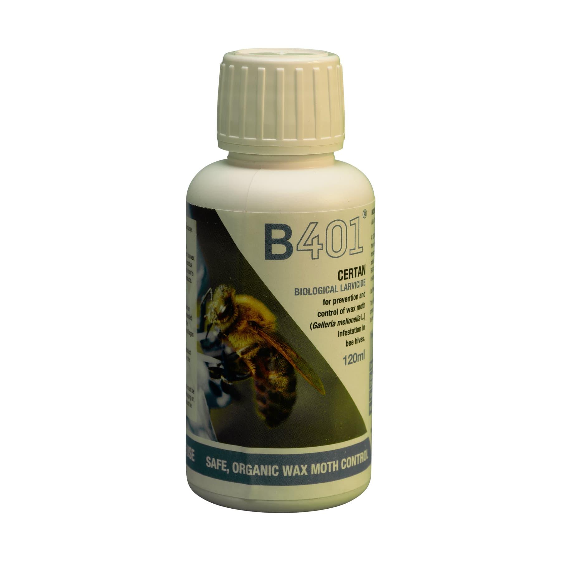 B 401 zur biol. Wachsmottenbekämpfung
