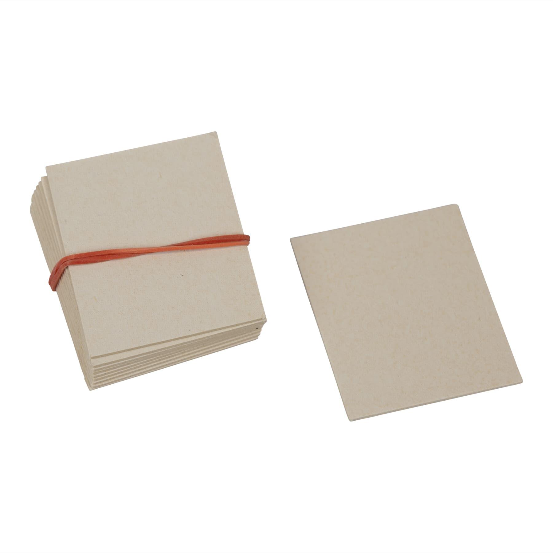 Nassenheider Ersatzdocht, 10 kleine a 27 cm²,  Weichfasertränkplatte, Weiland-Artikel Nr. 300004 für Typ classic Weiland Art. 300002