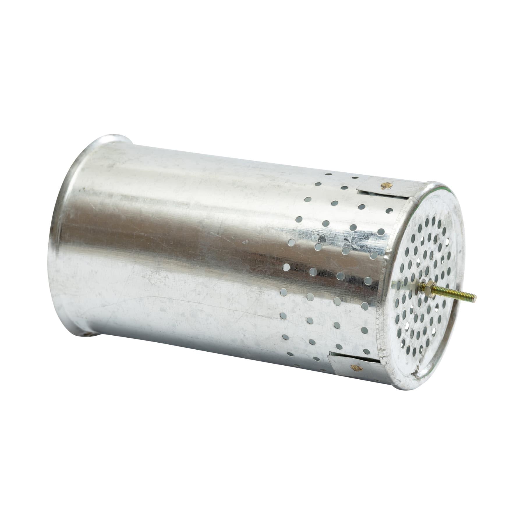 Innendose, gelocht, für Rauchbläser (Smoker) 10 cm Durchmesser als Ersatz