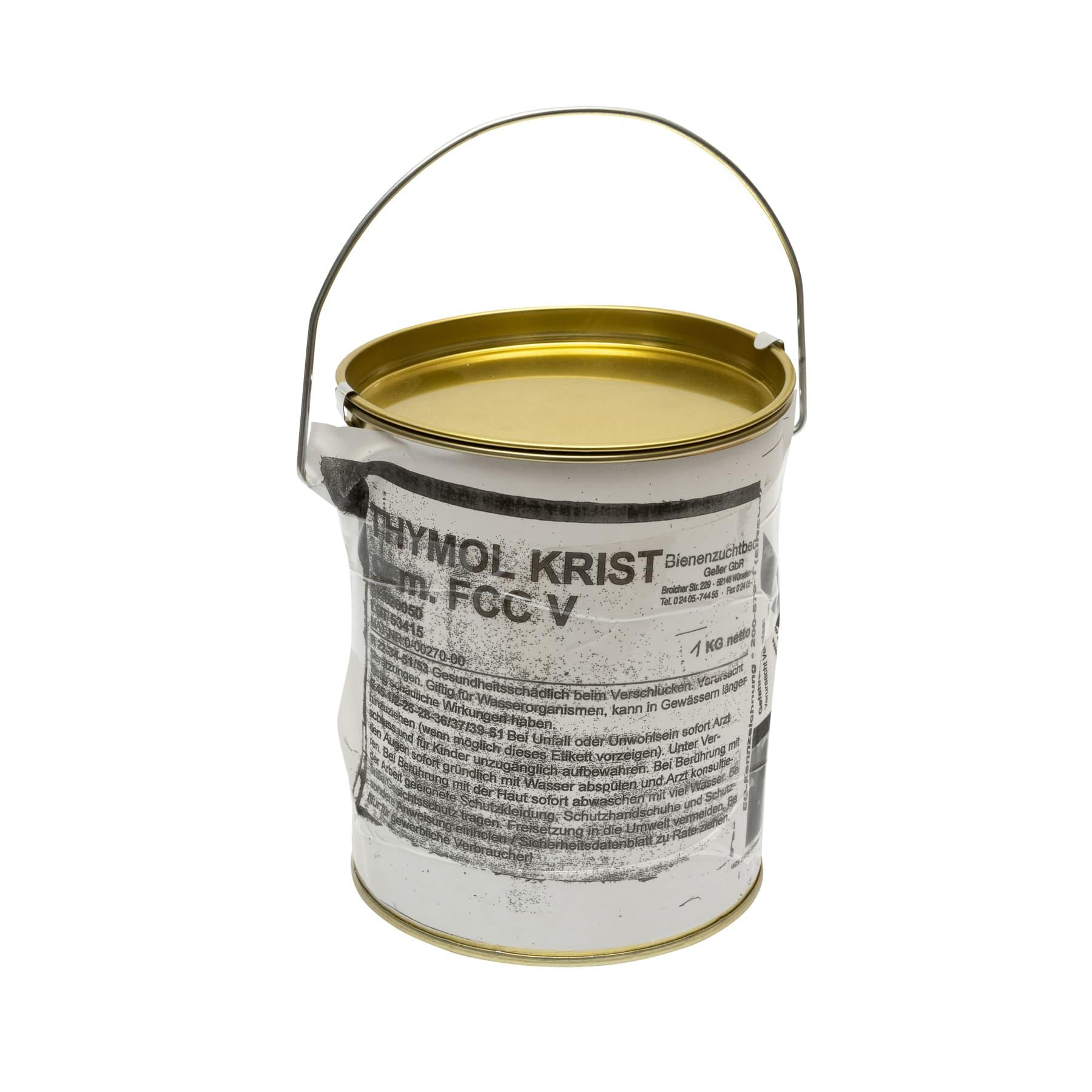 Thymol kristallin kg