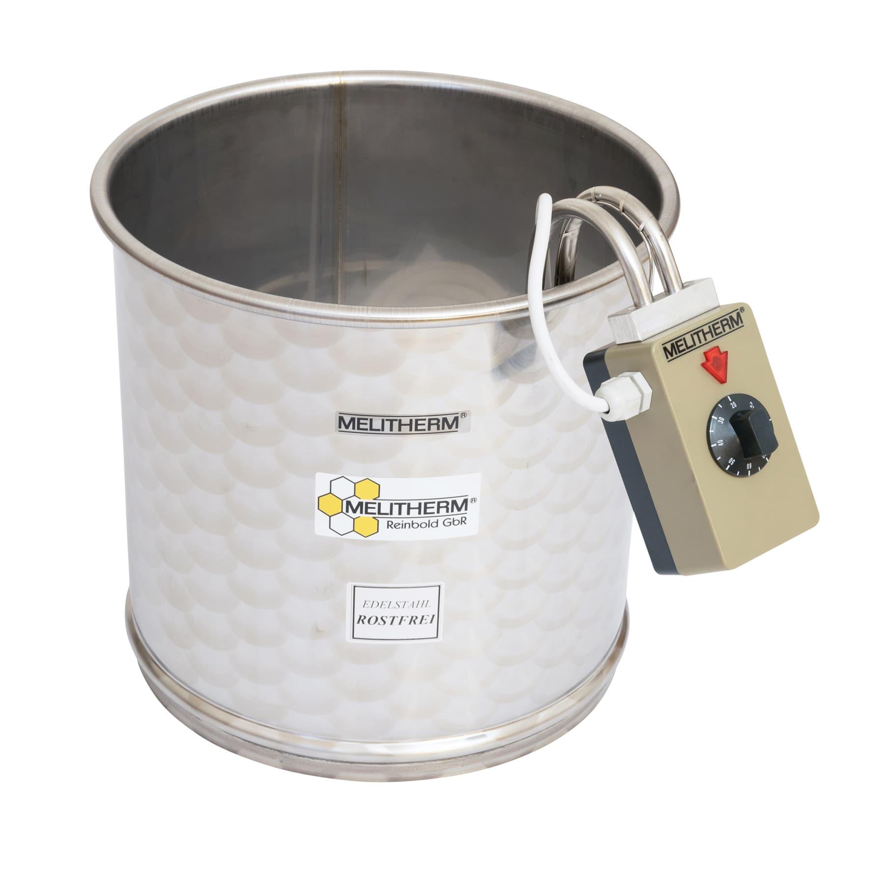 Melitherm mit außenliegendem Thermostat