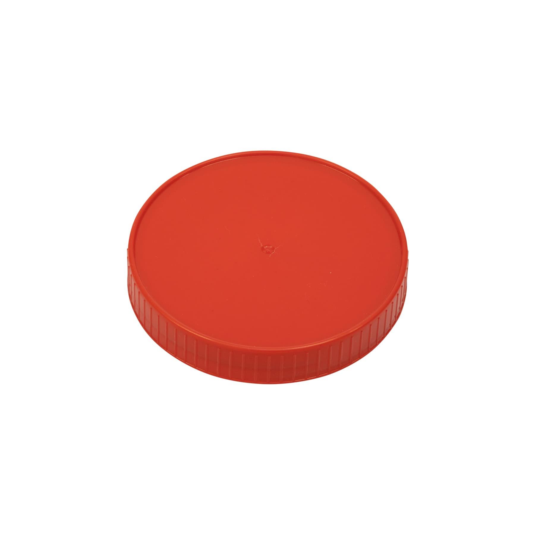 Schraubdeckel Kunststoff 80 mm, rot